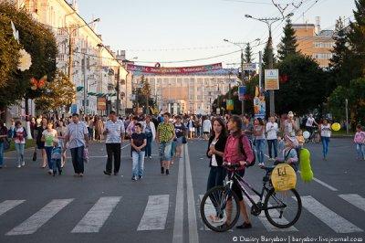 Творческий бульвар на День города Чебоксар