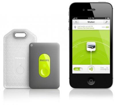 Philips представила Bluetooth-брелок InRange для поиска утерянных предметов