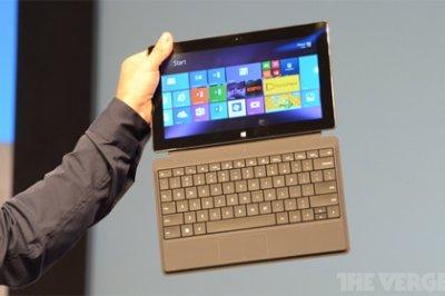 Microsoft представила второе поколение планшетов Surface