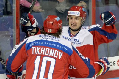 Россия обыграла Швецию на Кубке Карьяла
