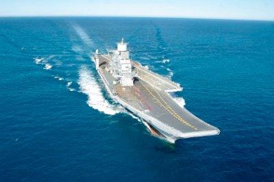 Россия передала Индии авианосец «Викрамадитья»