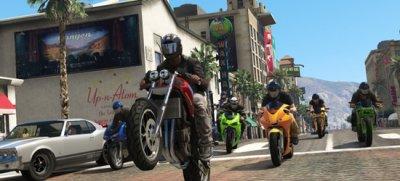 GTA V получит сюжетное дополнение, GTA Online - кооперативные грабежи в 2014-м