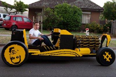 В Австралии протестировали машину из «Лего»