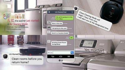 Бытовая техника LG сможет переписываться с хозяином через мессенджер Line