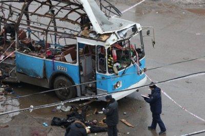 При взрыве в волгоградском троллейбусе пострадал 41 человек