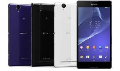 Планшетофоны Sony Xperia T2 Ultra и Xperia T2 Ultra dual для мобильных развлечений