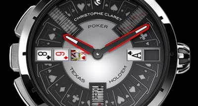 Наручные часы с покером