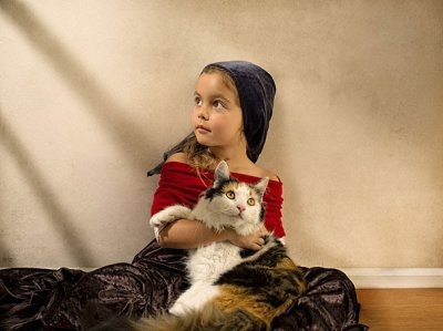 Фото дочери в необычном стиле