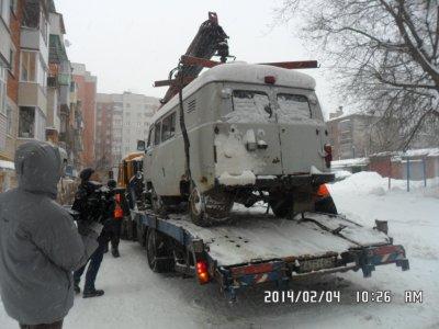 Эвакуация авто