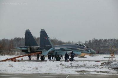 ВВС России получили дюжину истребителей Су-35С