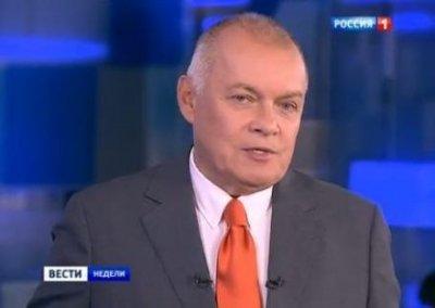 Дмитрия Киселева наградили орденом «За заслуги перед Отечеством»
