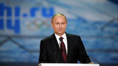 Рейтинг Путина достиг максимума после Олимпиады в Сочи