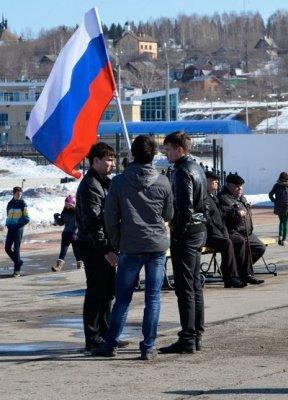 Еще немного случайных фотографий на митинге 15 марта