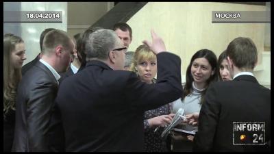 Оскорбленную Жириновским журналистку «Интерфакса» наградили премией