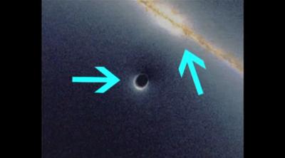 Путешествие внутрь черной дыры