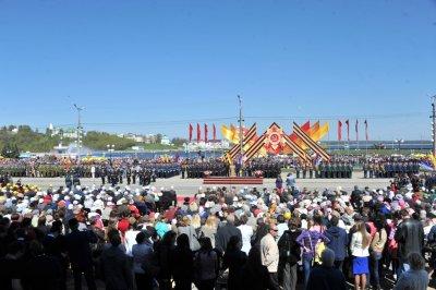 В Чебоксарах торжественным маршем прошел Парад Победы