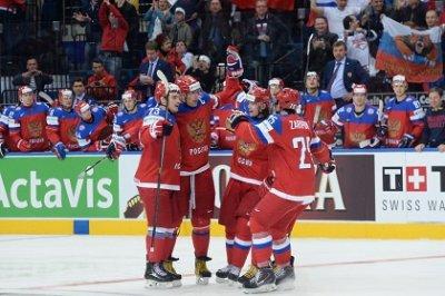 Россия обыграла Финляндию в матче второго тура ЧМ по хоккею