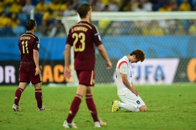 Сборная России ушла от поражения в матче с Кореей
