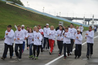 В Чебоксарах состоялся XXV Всероссийский олимпийский день