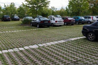 В Ленинском районе г.Чебоксары обустроены 11 новых дворовых парковок