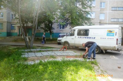 В Калининском районе Чебоксар демонтированы незаконные ограничители парковок