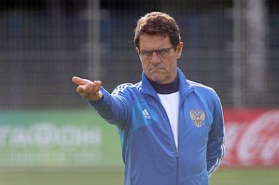 Капелло определился с расширенным составом сборной России