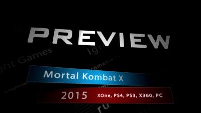 Mortal Kombat X - Превью