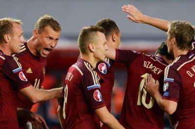 Сборная России начала квалификацию Евро-2016 с разгрома Лихтенштейна