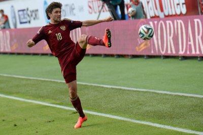 Голы двух российских футболистов номинированы на премию УЕФА