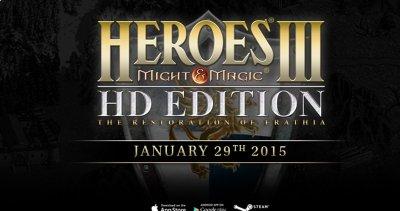 Heroes of Might & Magic III HD Edition в январе