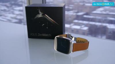 Обзор умных часов - ASUS ZENWATCH