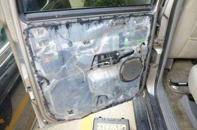 Неожиданный сюрприз в двери подержанного автомобиля