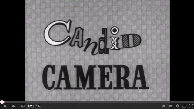 """Москва 1961-го года в передаче """"Candid Camera"""""""
