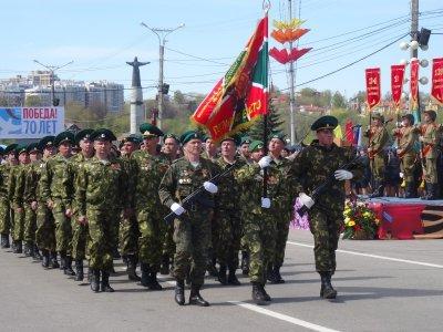 Военный парад в Чебоксарах