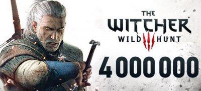За первые две недели The Witcher 3: Wild Hunt купили более 4 млн игроков