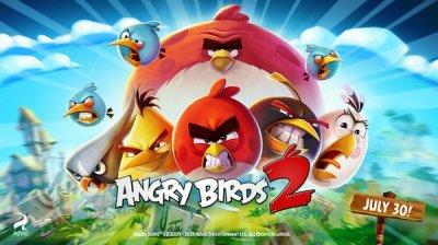 Angry Birds 2 выйдет 30 июля 2015. Серия преодолела отметку в 3 млрд загрузок