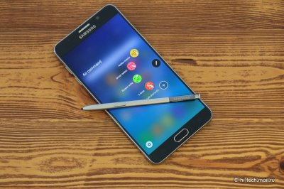 Обзор смартфона - Samsung Galaxy Note 5