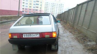 За парковку на газоне в Ленинском районе привлечены к ответственности 7308 водителей