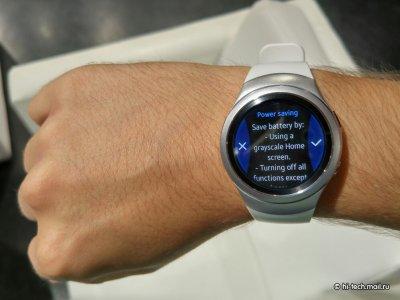 Samsung Gear S2 - первый взгляд