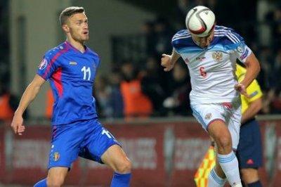 Сборная России по футболу обыграла Молдавию