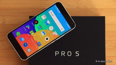 Обзор смартфона - Meizu Pro 5