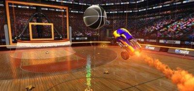 Баскетбол на машинах появится в Rocket League в апреле
