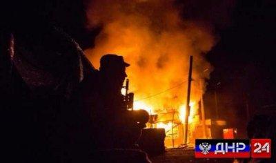 По всей линии соприкосновения в ДНР творится АД