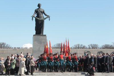 Пискарёвское мемориальное кладбище. (Санкт-Петербург)