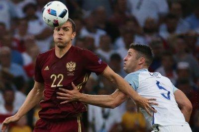 Сборная России вырвала ничью в дебютном матче с Англией на Евро-2016