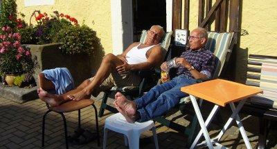 Неустанная забота о пенсионерах
