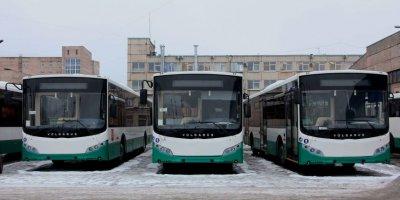 В Петербург прибыли три десятка новых автобусов Volgabus