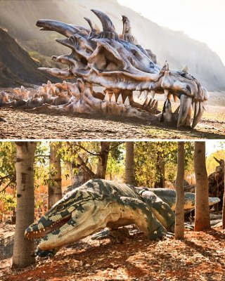 7 фантастических тварей, которые существовали на самом деле (7 фото)