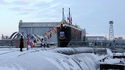 Четвертая атомная субмарина проекта «Ясень» прошла испытания на прочность и герметичность