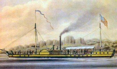 11 февраля 1809 года запатентован первый пароход